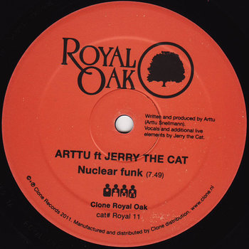 Cover art - Arttu Feat. Jerry The Cat: Nuclear Funk