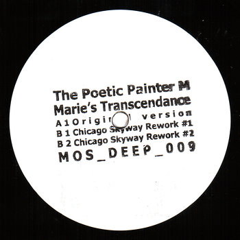 Cover art - The Poetic Painter M: Marie's Transcendance