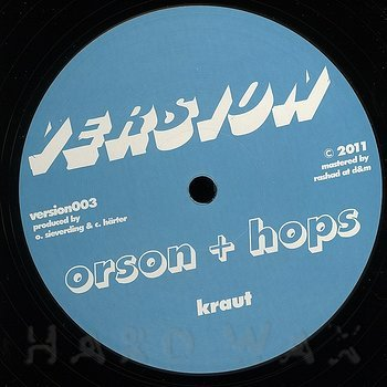 Cover art - Orson + Hops: Kraut