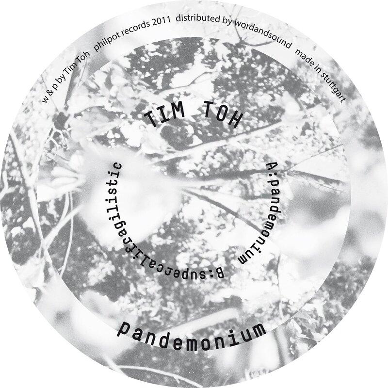 Cover art - Tim Toh: Pandemonium