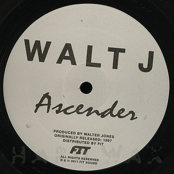 Cover art - Walt J: Ascender