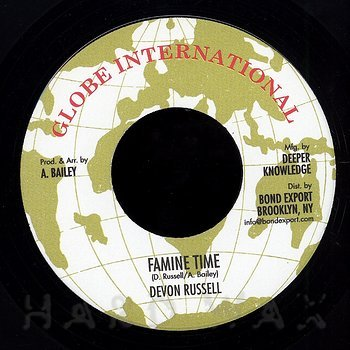 Cover art - Devon Russell: Famine Time