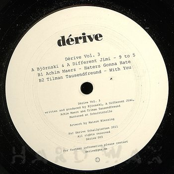 Cover art - Various Artists: Dérive Vol. 3