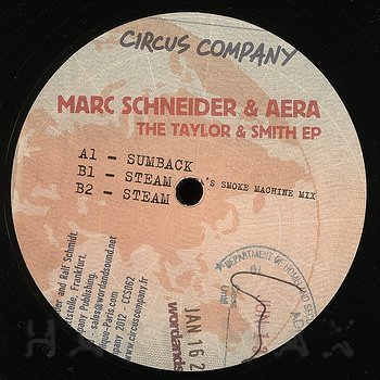 Cover art - Marc Schneider & Aera: The Taylor & Smith EP