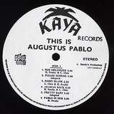 Cover art - Augustus Pablo: This Is Augustus Pablo