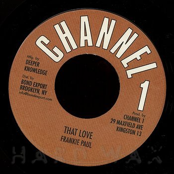 Cover art - Frankie Paul: That Love