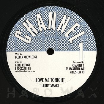 Cover art - Leroy Smart: Love Me Tonight