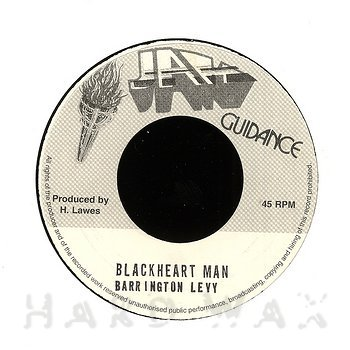 Cover art - Barrington Levy: Blackheart Man