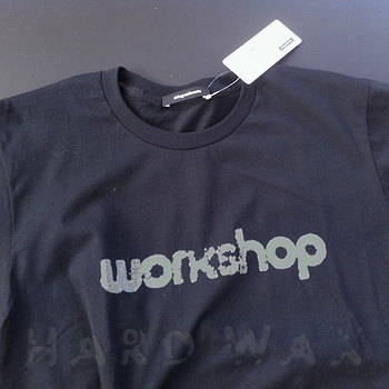 Cover art - T-Shirt, Size L: Workshop Logo, Black
