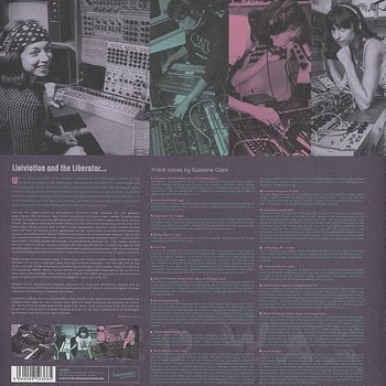 Cover art - Suzanne Ciani: Lixiviation