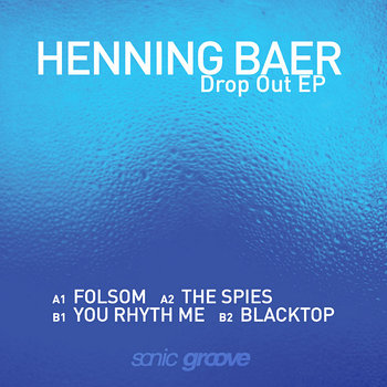Cover art - Henning Baer: Drop Out EP
