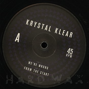 Cover art - Krystal Klear: We're Wrong