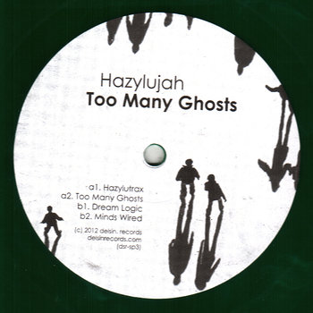 Cover art - Hazylujah: Too Many Ghosts