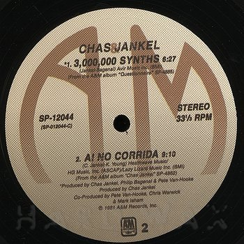 Cover art - Chas Jankel: Glad To Know You