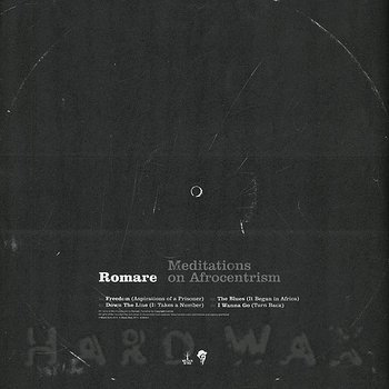 Cover art - Romare: Meditations On Afrocentrism EP