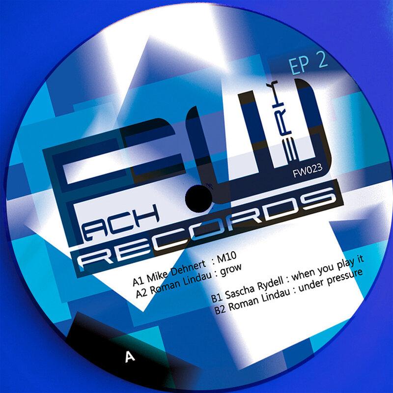 Cover art - Various Artists: Fachwerk EP 2