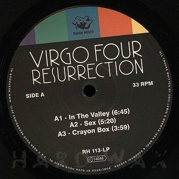 Cover art - Virgo Four: Resurrection