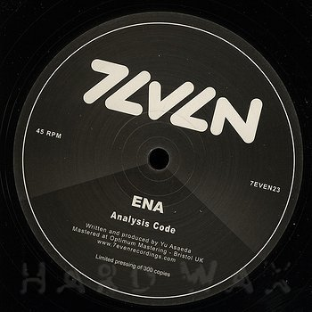Cover art - Ena: Analysis Code