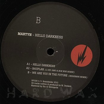 Cover art - Martyn: Hello Darkness