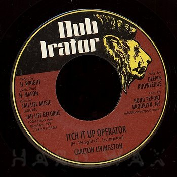Cover art - Carlton Livingston: Itch It Up Operator