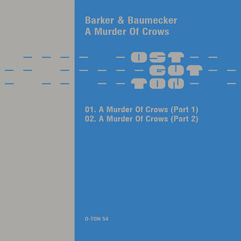 Cover art - Barker & Baumecker: Murder Of Crows