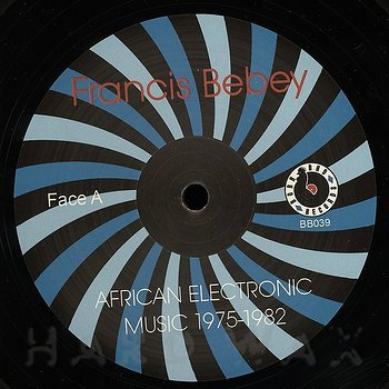 Cover art - Francis Bebey: African Electronic Music 1975-1982
