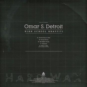 Cover art - Omar S: High School Graffiti