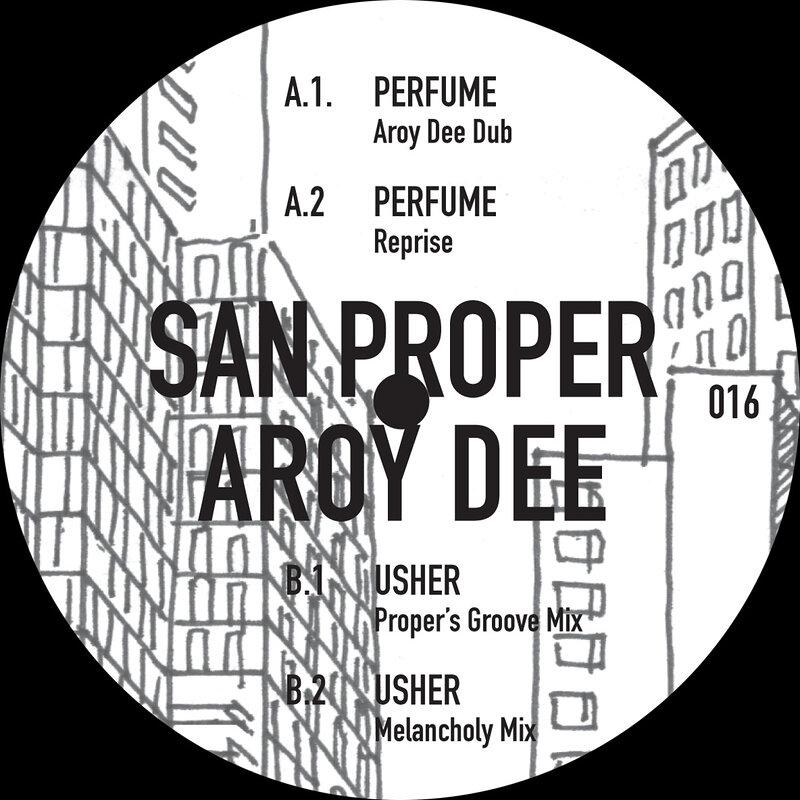 Cover art - San Proper & Aroy Dee: Perfume