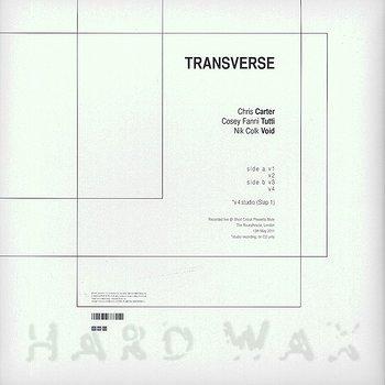 Cover art - Carter Tutti Void: Transverse