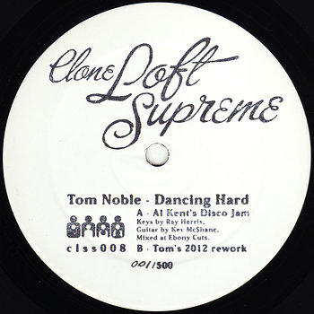 Cover art - Tom Noble: Dancing Hard