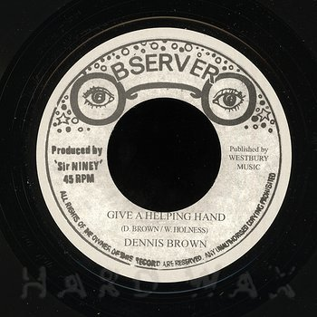 Cover art - Dennis Brown: Give A Helping Hand