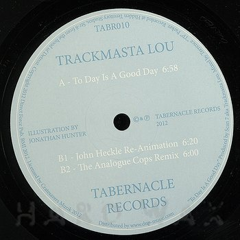 Cover art - Trackmasta Lou: To Day Is A Good Day