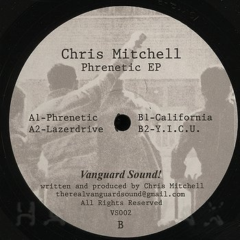 Cover art - Chris Mitchell: Phrenetic EP