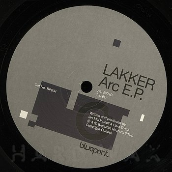 Cover art - Lakker: Arc EP