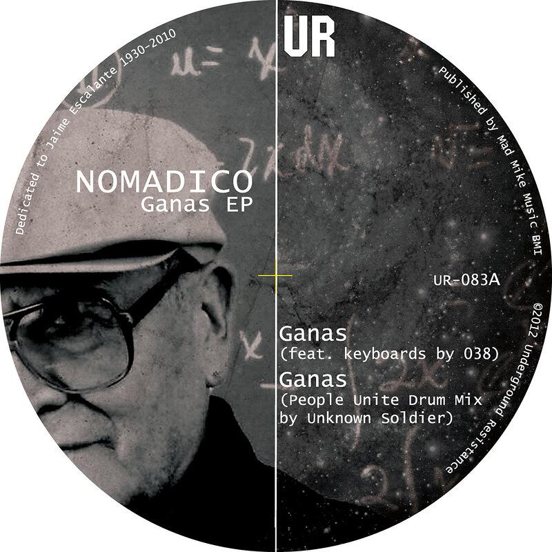 Cover art - Nomadico: Ganas EP
