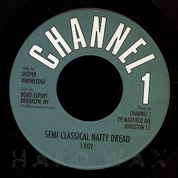 Cover art - I Roy: Semi Classical Natty Dread