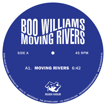 Cover art - Boo Williams: Moving Rivers