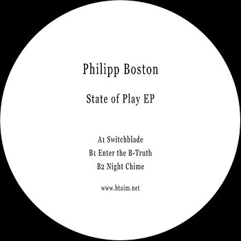 Cover art - Philipp Boston: State Of Play EP