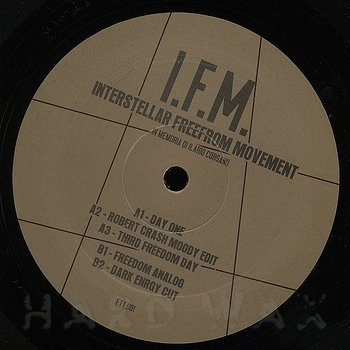 Cover art - I.F.M.: Interstellar Freeform Movement