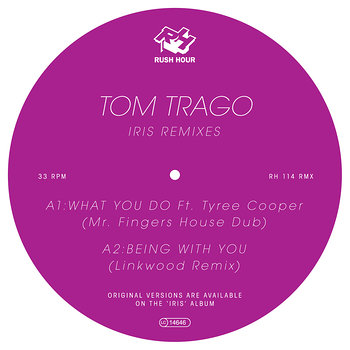 Cover art - Tom Trago: Iris – Remixes