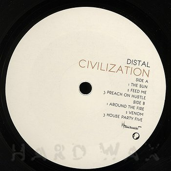 Cover art - Distal: Civilization