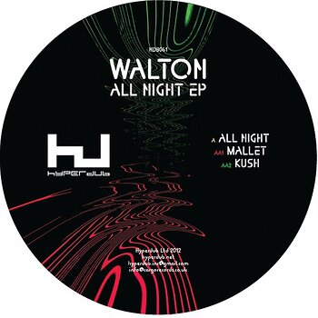 Cover art - Walton: All Night EP