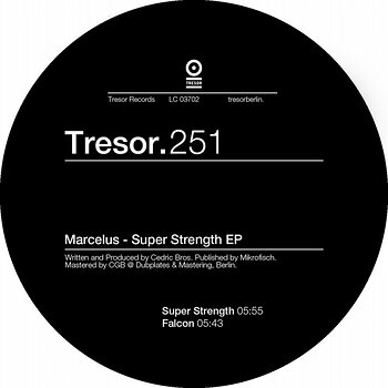 Cover art - Marcelus: Super Strength EP