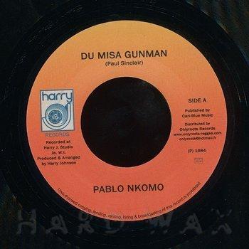 Cover art - Pablo Nkomo: Du Misa Gunman