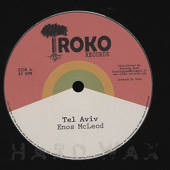 Cover art - Enos McLeod: Tel Aviv