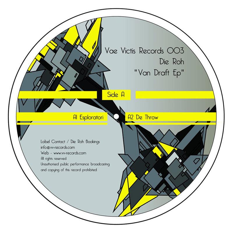 Cover art - Die Roh: Van Draft EP