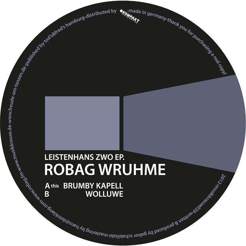Cover art - Robag Wruhme: Leistenhans Zwo EP