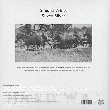 Cover art - Simone White: Silver Silver