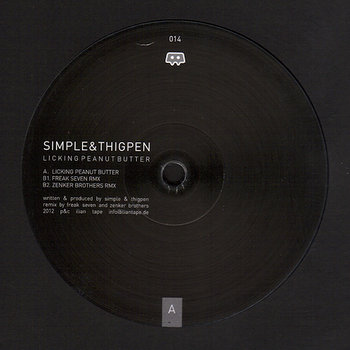 Cover art - Simple & Thigpen: Licking Peanut Butter
