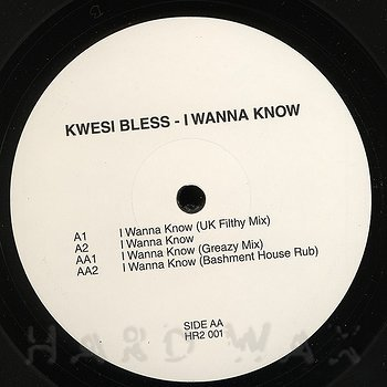 Cover art - Kwesi Bless: I Wanna Know
